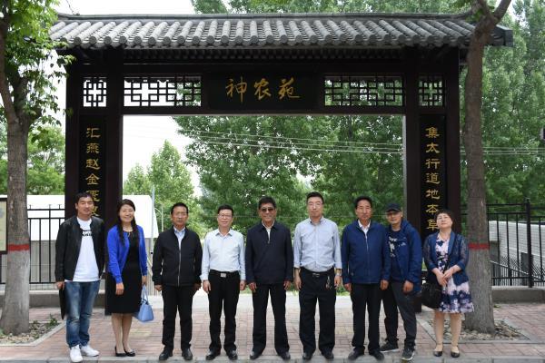 西藏藏医药大学到我院参观